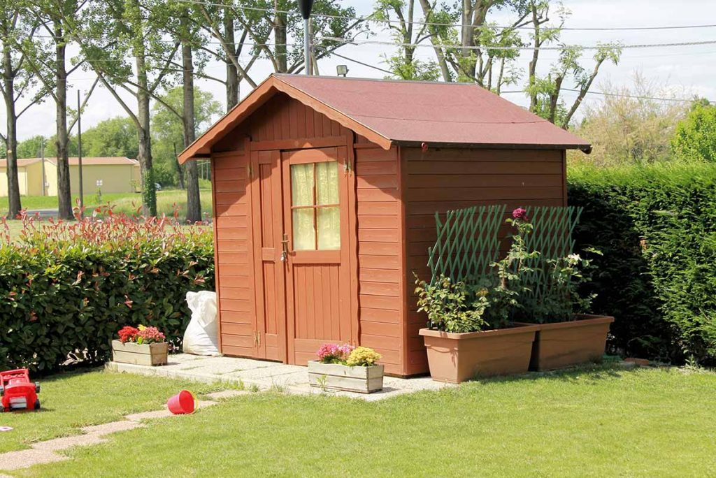 Zahradni domek, Zahradni chatka