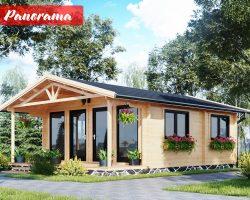 Zahradni chata, zahradni domek drevena chata
