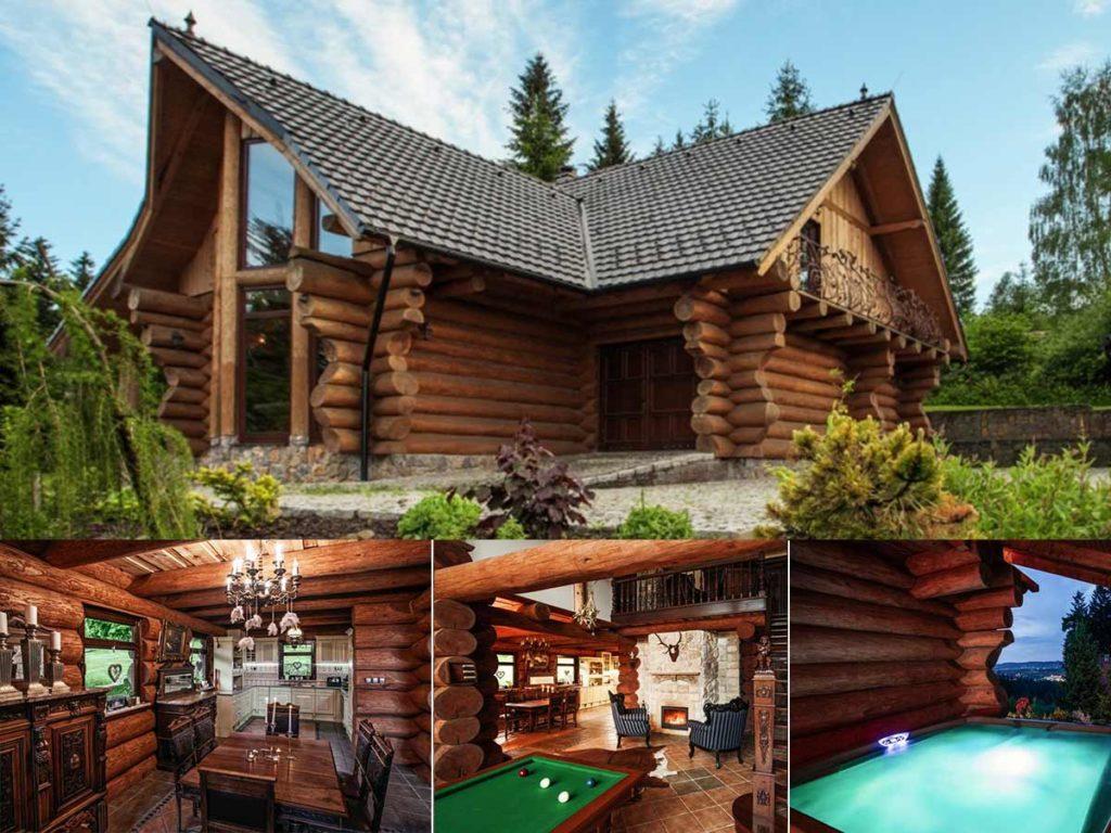 chata Luxusní Srub