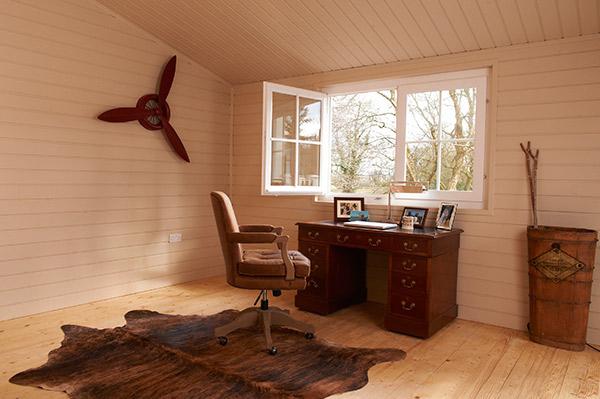 interiér záhradního domku Fenix