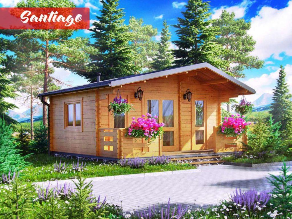 dřevěná chata Atlanta