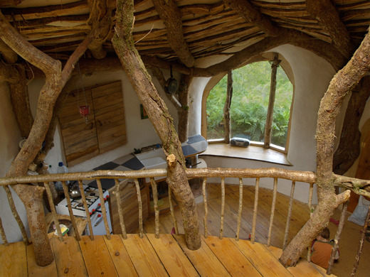 hobití domček interiér