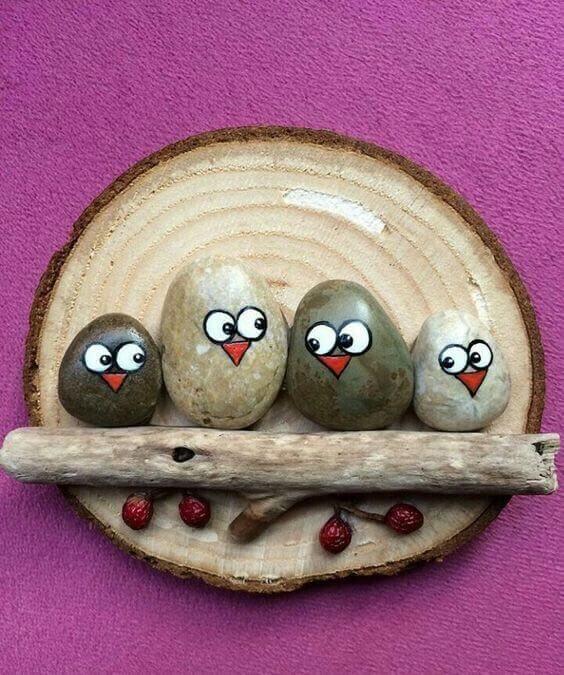 kameny s očima