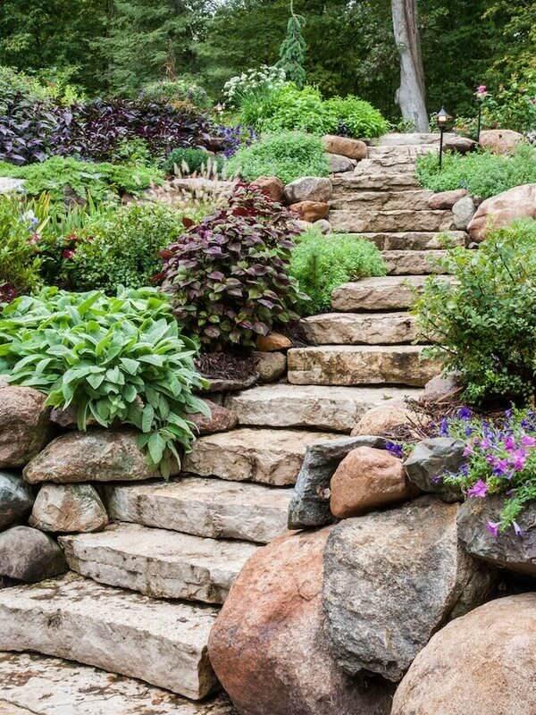 schody z kamena
