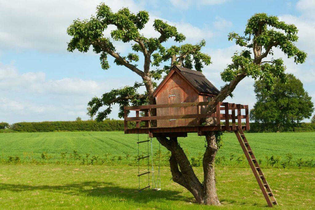 detsky domek na strome